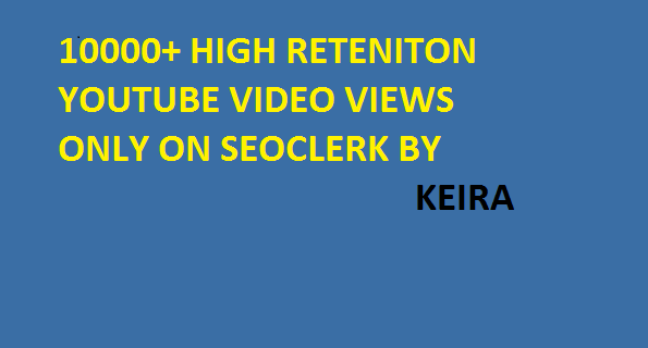 Start Instant 20000-25000 Non Drop High Retention Youtube Views