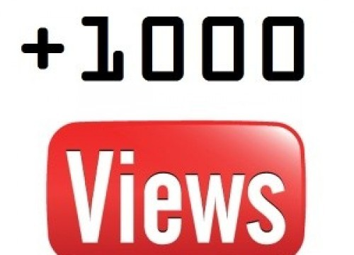 I will add 1000+ High Quality Youtube Vie ws
