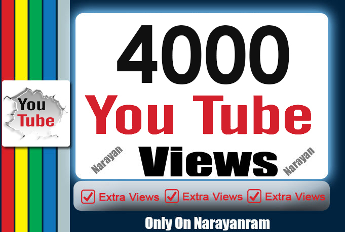 4000 Monetizable Views Instant Start Never Drops