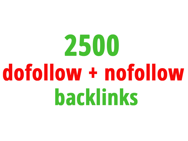 create seo backlinks to your website from 2500 sites