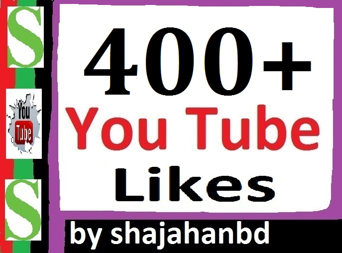 Instant 400 To 500 YT Likes Or 15 YT Custom Comments To Your Video