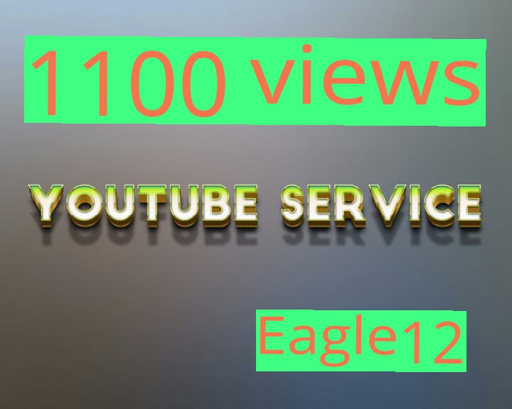 Grand Fast 1000-1100 youtube views in less than 48 hours