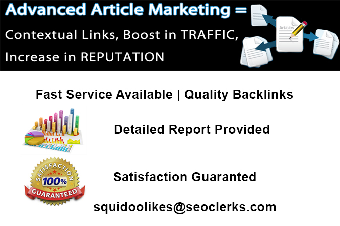 I will post 200 article directory backlinks