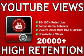 20,000 YOU TUBE VIDEO SERVICES