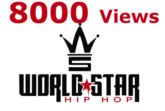 I will provide 10000 UNIQUE Views Worldstarhiphop