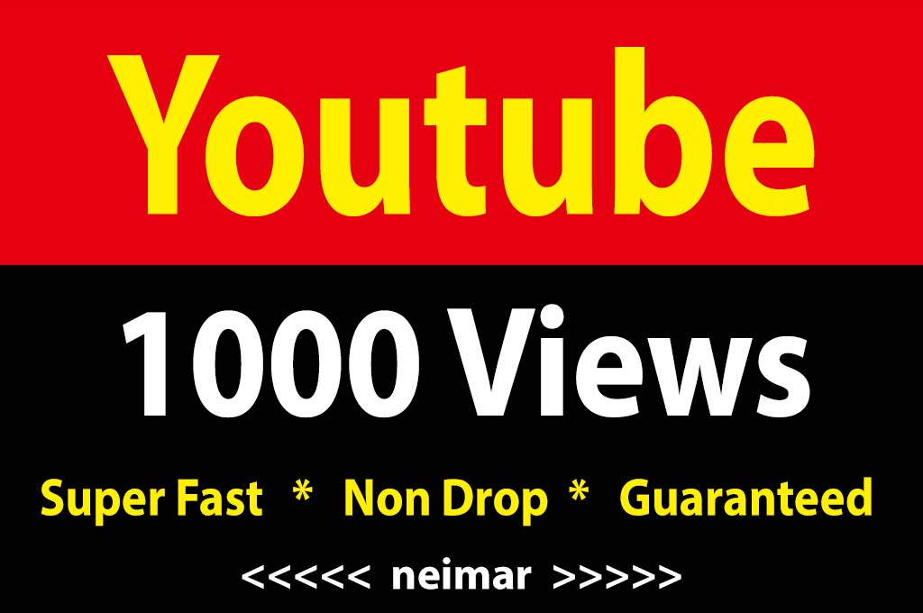 instant 1000 Vieews Fully Safe, Lifetime Guarantee