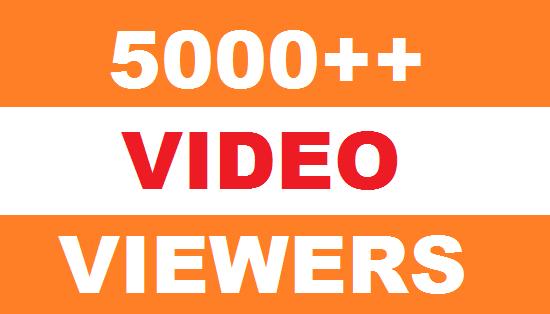 5000 HQ High Retention Real Human Yu+Tu Viewers