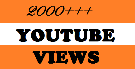 2000 HQ High Retention Real Human You Tube Viewers  Desktop Watch
