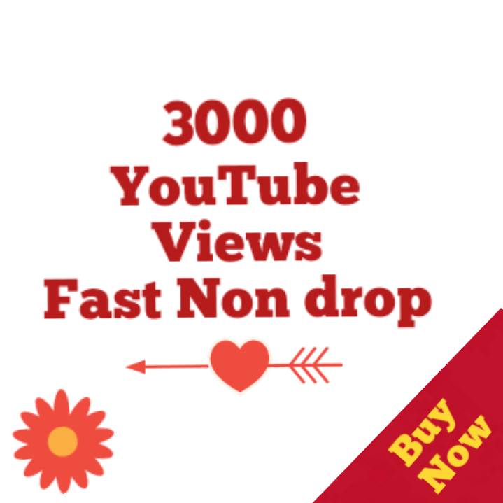 2000 to 3000 Youtube Vi ews Super fast 24-48 Hours