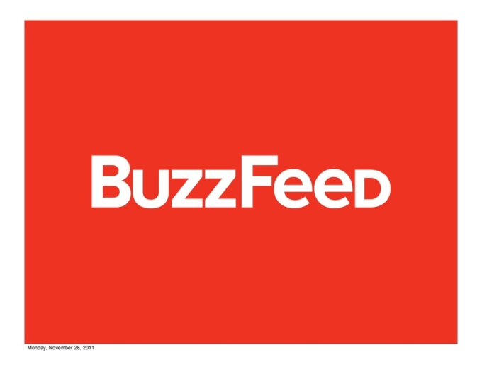 Write and publish an article on buzzfeed with a dofollow backlink