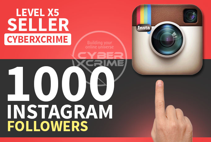 give 1000+ High Quality INSTAGRAM FOLLOWERS within 24hrs