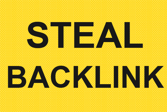 Get a Backlink from your Competitor site