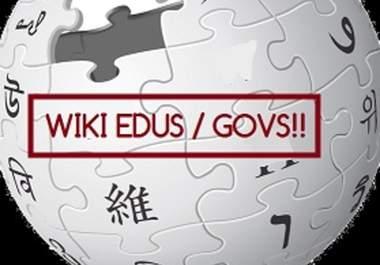 Create Wiki 1 Gov Backlinks PagerRank 5