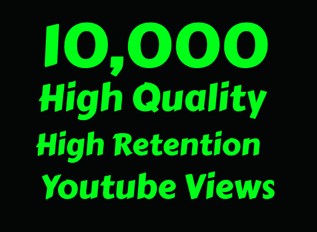 I will add 10,000+ Youtube Vie ws in Just