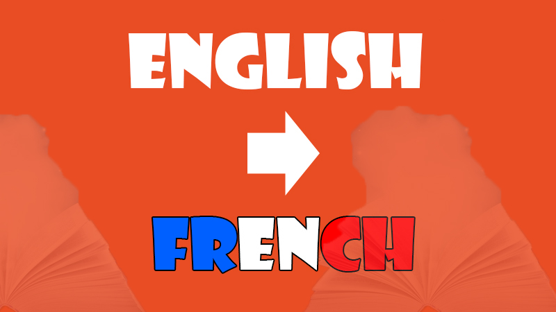 English to French translation