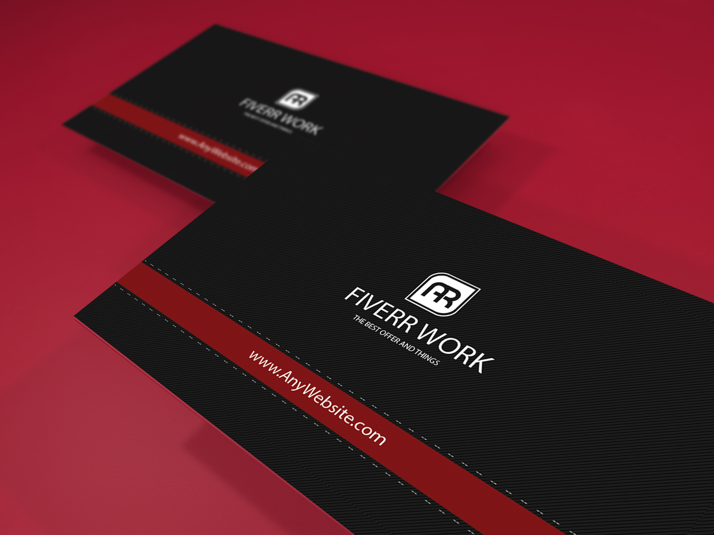 I will create 2 amazing and unique business card in 24 hours
