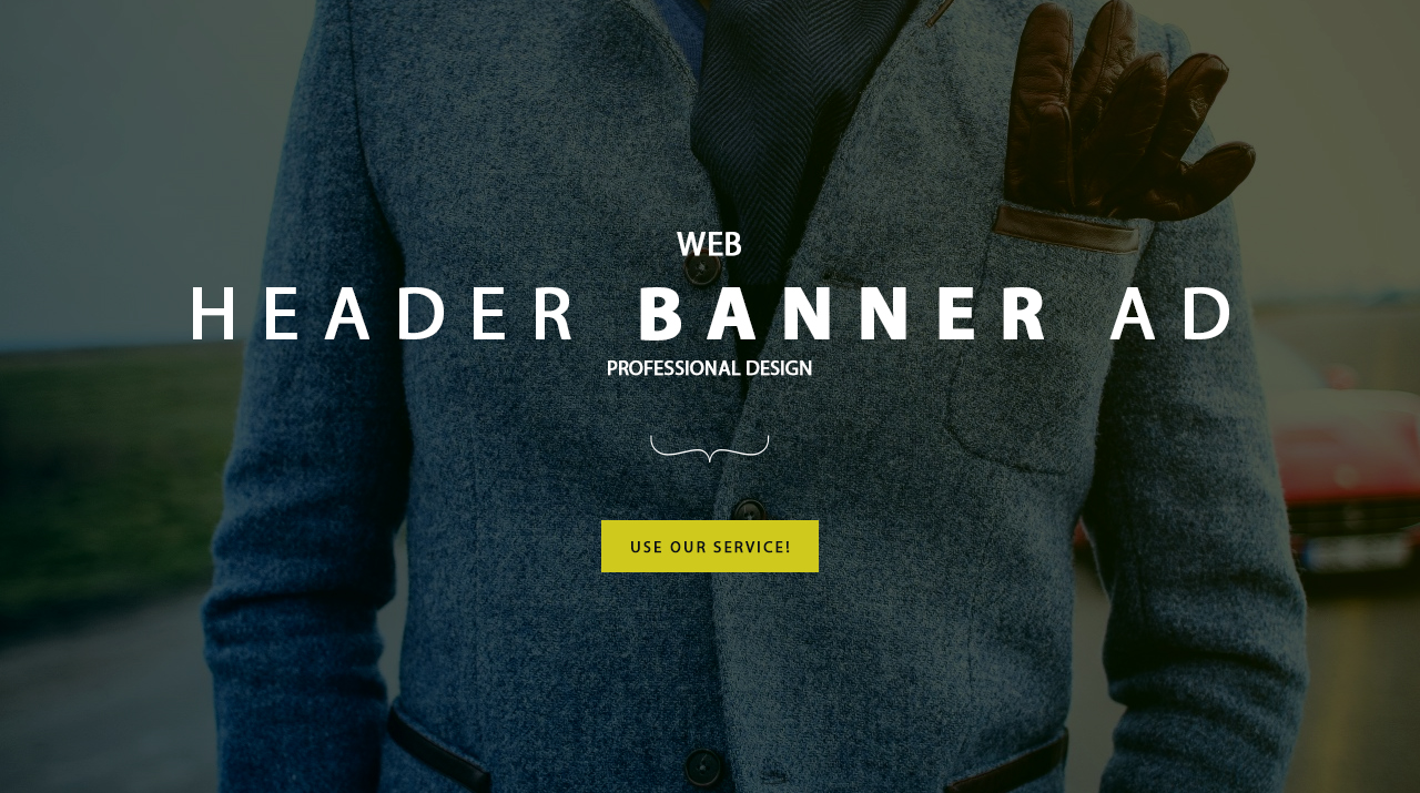 I will design Professional web banner, header, ad, coverbanner