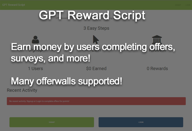 GPT Rewards System Script