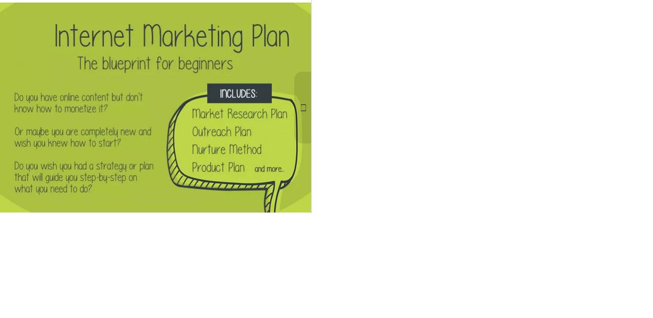 write You An Internet MARKETING Plan