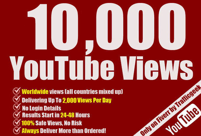 Iooo+ Organic Non Drop And HR YouTube Video Promotion For Viral YouTube Video & SEO Ranking