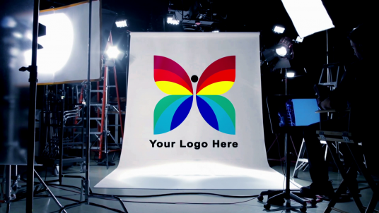 I will reveal your Logo or Company Name in an amazing Real Film Studio for