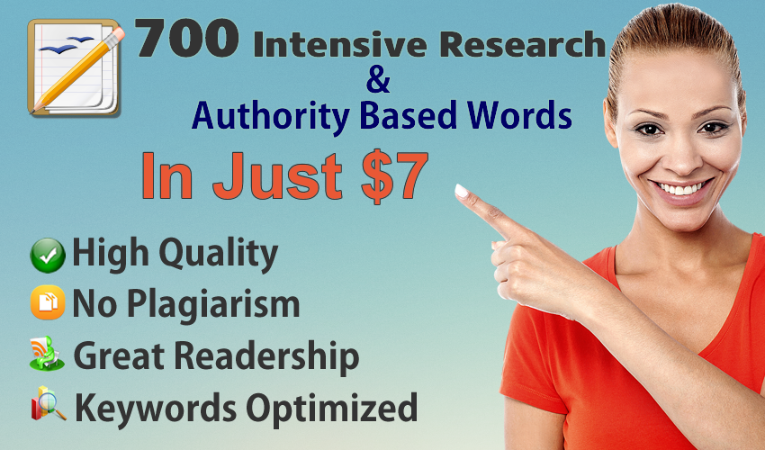 700 Intensive Research and Authority Based Words