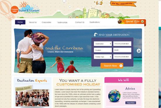I will design a creative and stunning website for