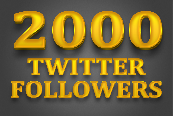 add 2500 worldwide twitter followers