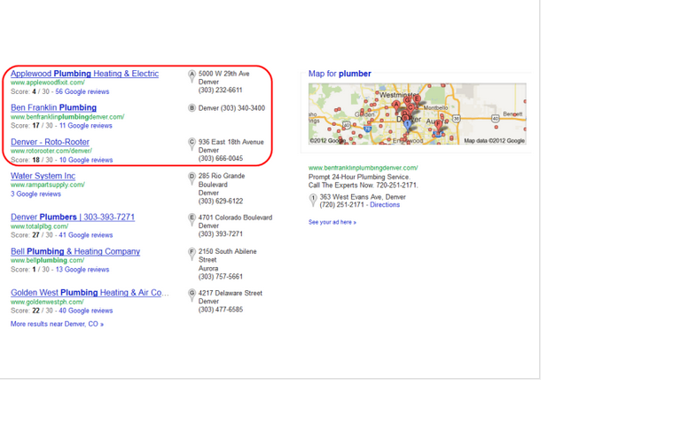 50 local citations manually in top USA websites to boost your local rankings