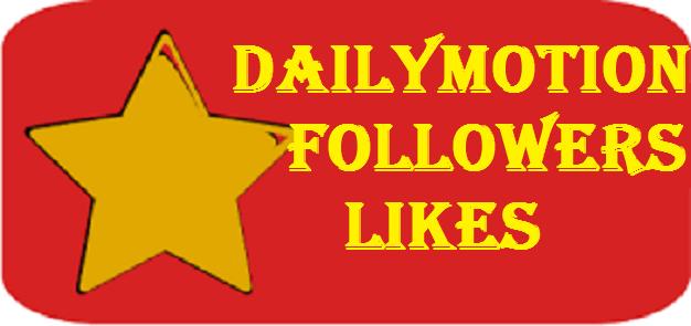 add fast 20 Dailymotion Followers
