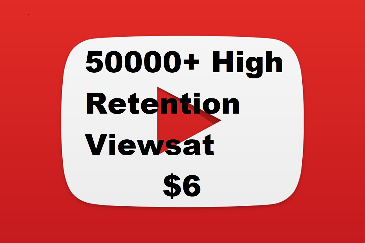HR 5000+ HQ Human YOU_Tube watchers Instant service