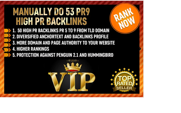 manually do 53 PR9 High PR Backlinks
