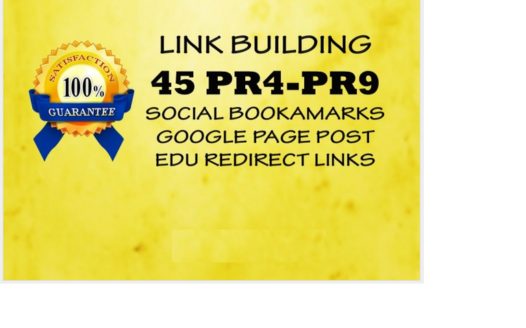 build 45 PR4 PR9 website submission,  google page,  and EDU backlinks