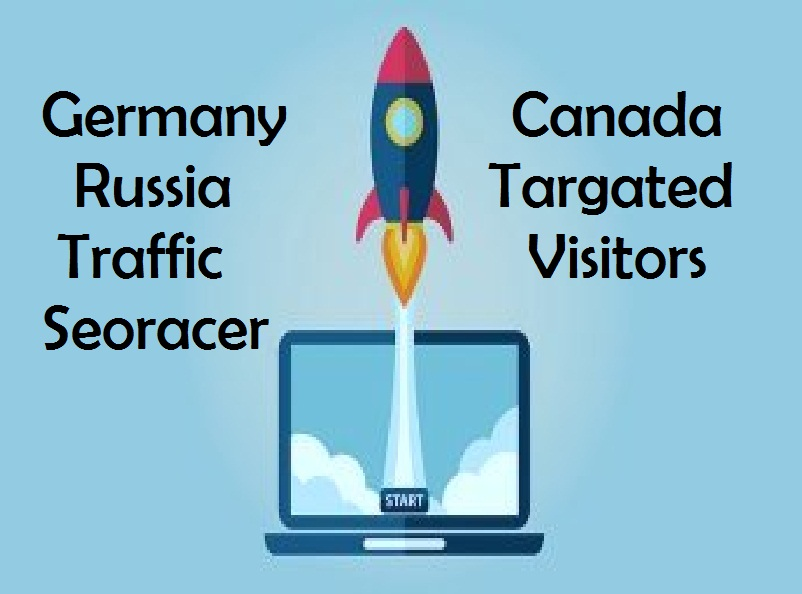 Drive 15.000 Real Germany Or USA Or Canada Or Russia Targeted Traffic to Your Website