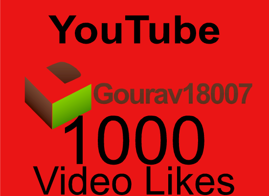 Safe 1000 Youtube likes Or 20K HR Views Or 1000 Soundcloud Likes/Repost/Followers