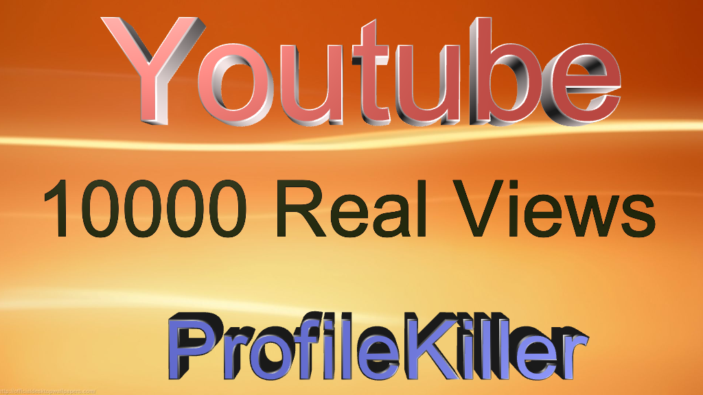 youtube 10000+ Real People Views High Quality
