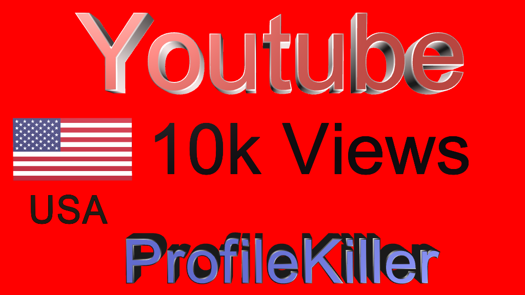 youtube  10k Views High Quality