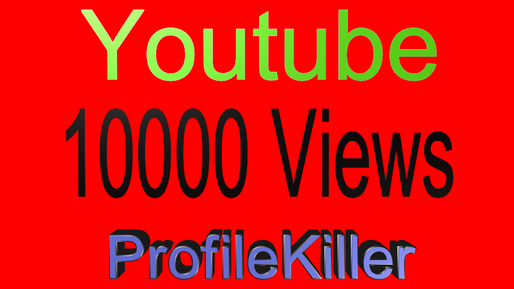 youtube 10000+ Real Views High Quality