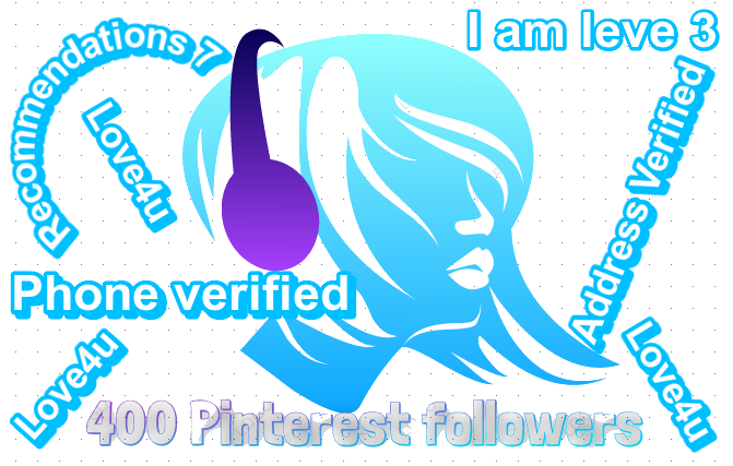 Get 400 Pinterest Followers Real Human with world wide Followers