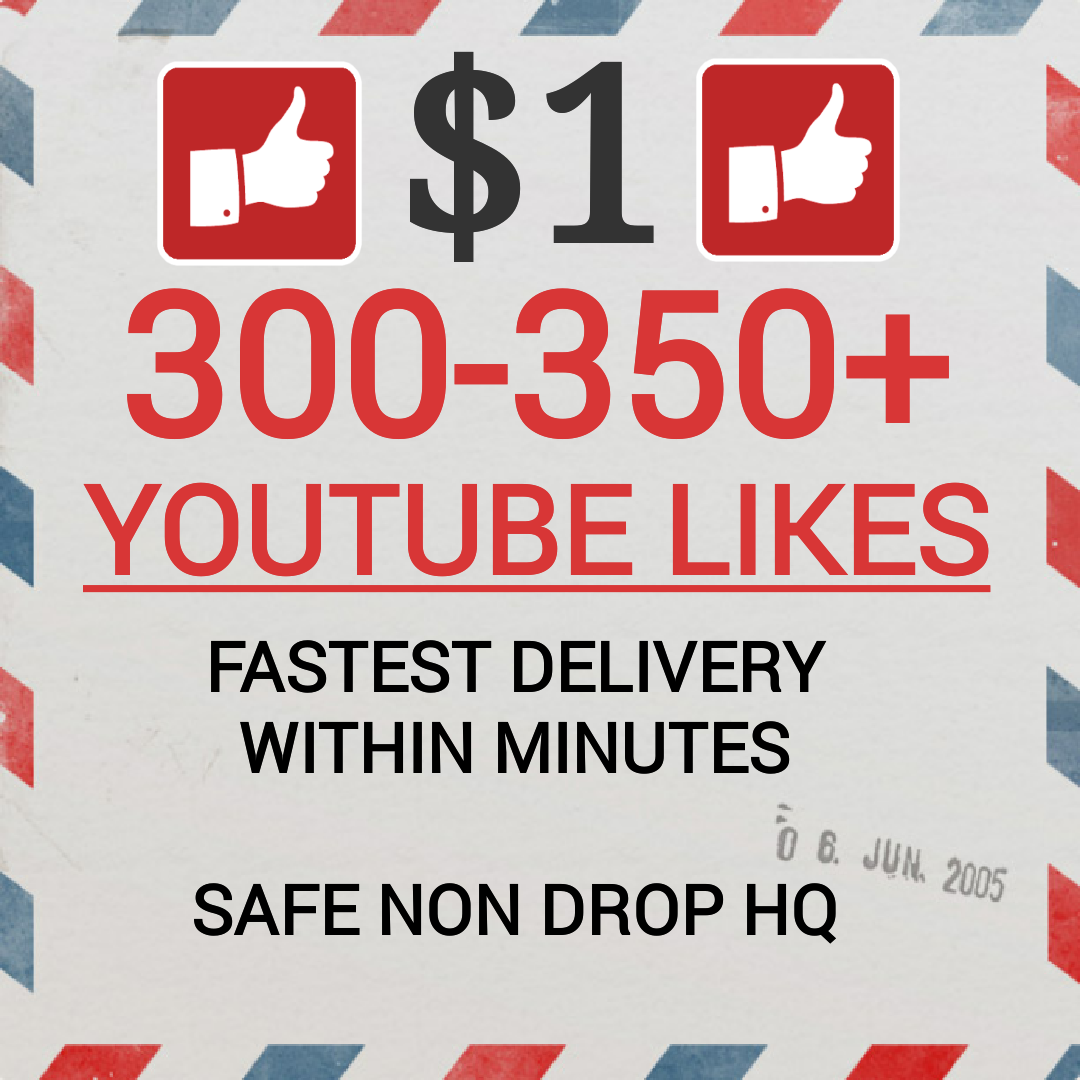 Fastest 400+ Youtube Video Likes Non drop