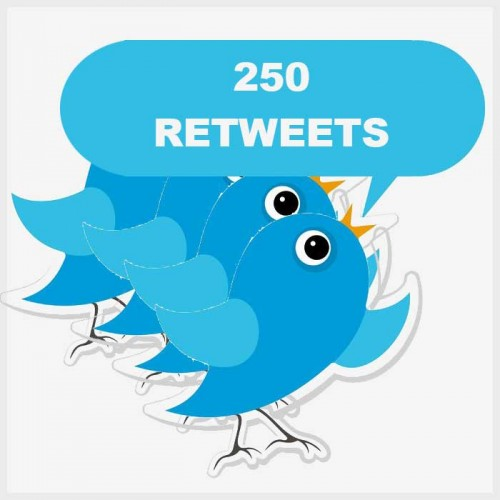 add 500+ retweets and 500 Favorite