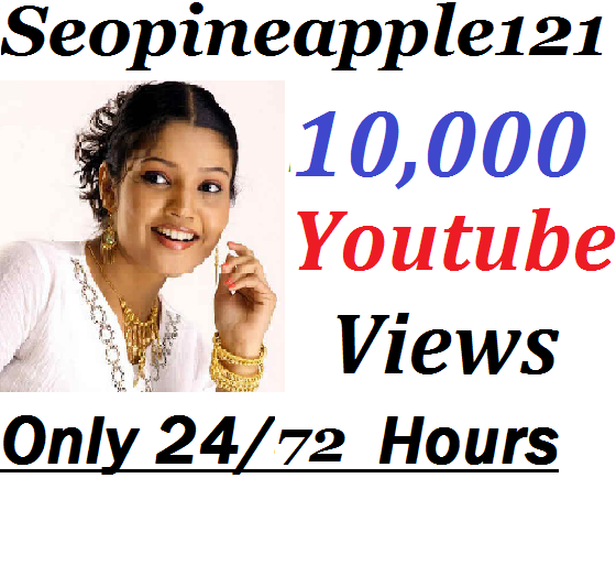 10,000+ HR YouTube Vi-ews  + 100 Extra Bonus YouTube Li kes Real And Non Drop