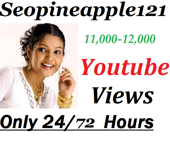 11,000-12,000 High Quality Non Drop Youtube Vie-ws Within 24-72 Hours