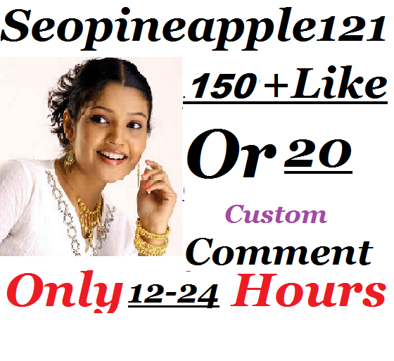 150+ Youtube Likes Or 20 Custom Comment 12-24 hours in complete