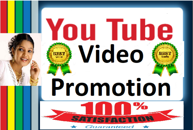 YouTube Video promotion Marketing with Lifetime Non Drop Guaranteed
