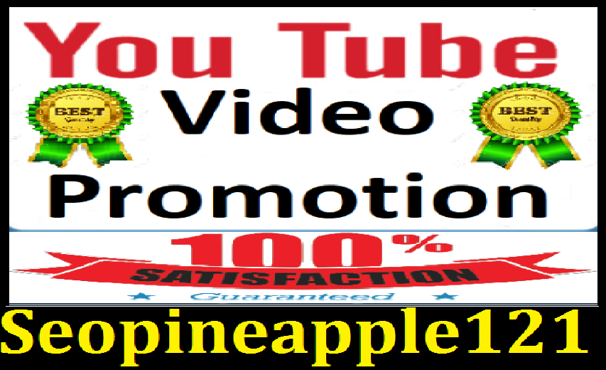 New YouTube Video promotion Marketing with amazing Services