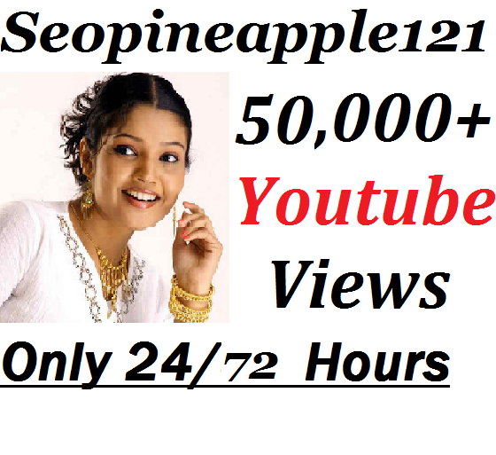 Add 50,000+ HR YouTube Views + 500 Extra Bonus YouTube Likes Real And Non Drop