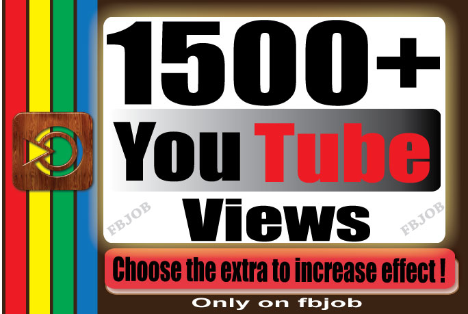 Fast 1000-1500+ Non Drop High Quality Adsense Safe and Life Time Guaranty Views for Your Video