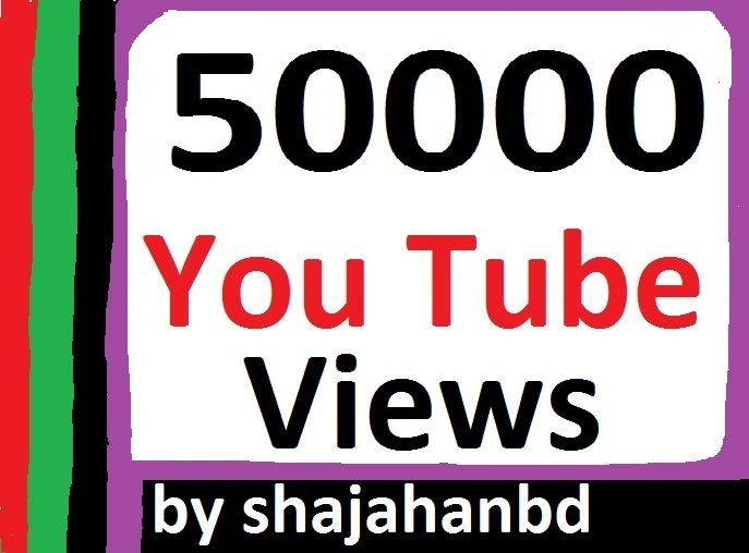 50,000+ Safe/Non Drop HR YouTube Views + 100 Extra Bonus Likes To Your Video