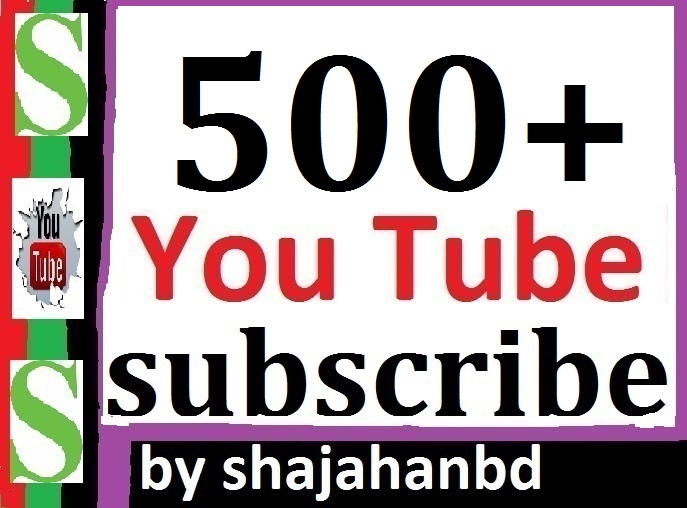 500 Real YouTube Subscriber Non Drop Guarantee